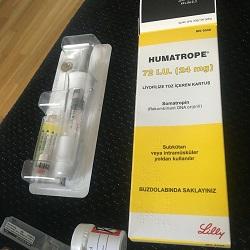 HUMATROPE 72IU 24mg