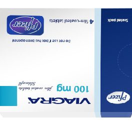 Viagra 100mg Sildenafil Pfizer