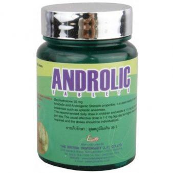 Androlic Oxymetholone 50mg