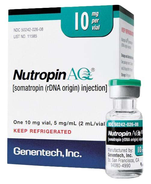 Nutropin HGH