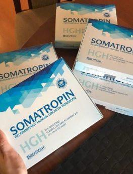 Genentech Somatropin 100iu