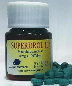 Buy Superdrol Methasterone 10mg